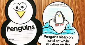 Penguin Activities for Kindergarten