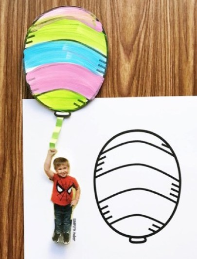 Seuss Door for Oh, The Places You'll Go. (Download the free balloon).