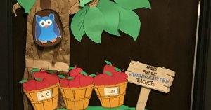 Apple Tree Classroom Decoration