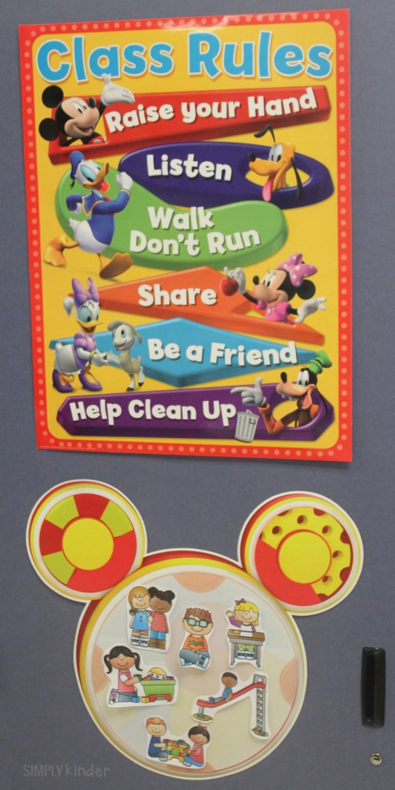 Disney Classroom Decor