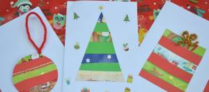recycled christmas cards simply kinder feature