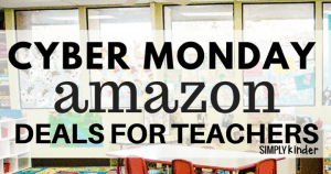 Cyber Monday Amazon Deals for Teachers. Save big on these items during the annual Cyber Week Sales!