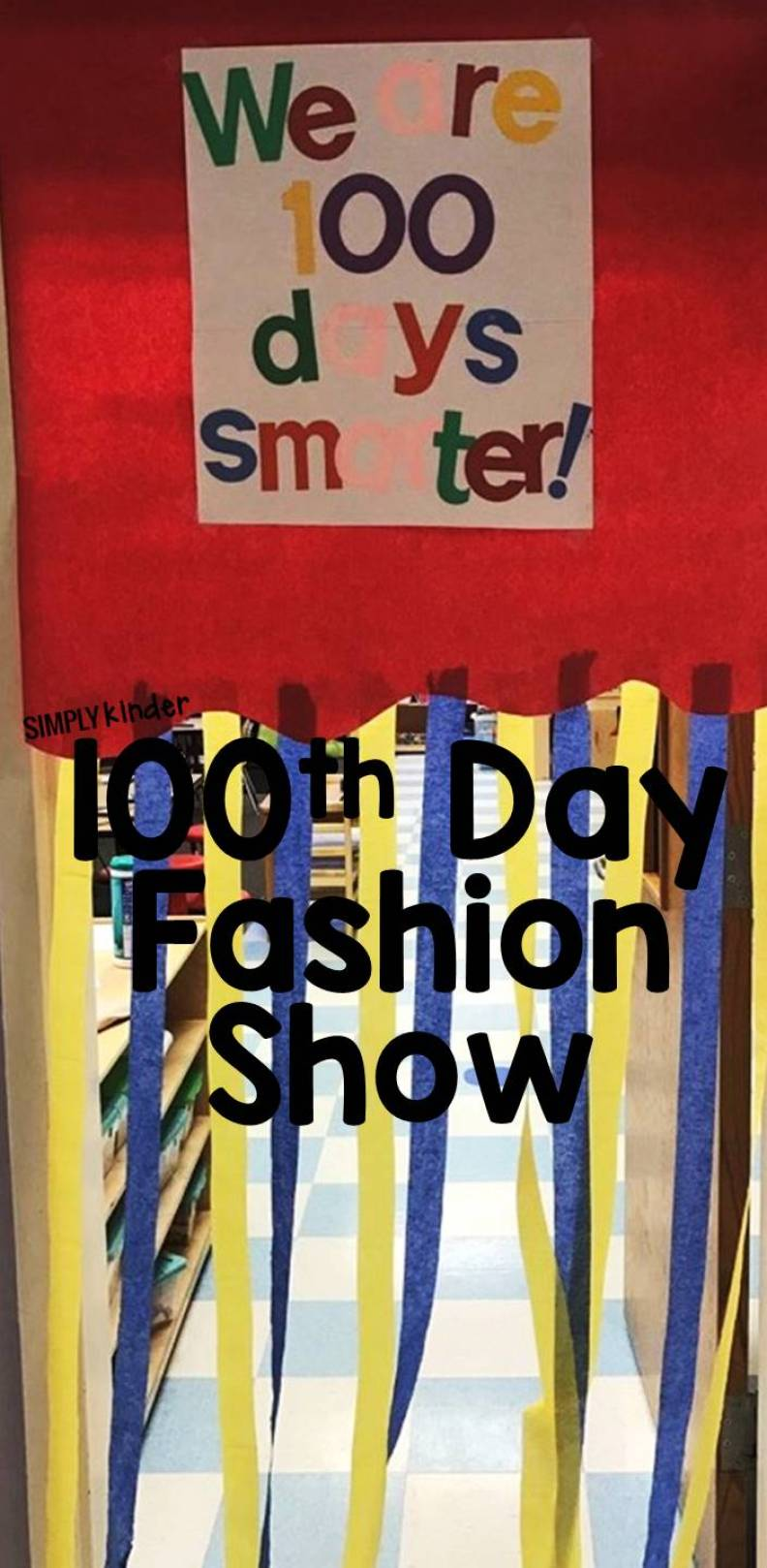 A 100th day fashion show is a great way to celebrate reaching 100 days of school with your kindergarten students.