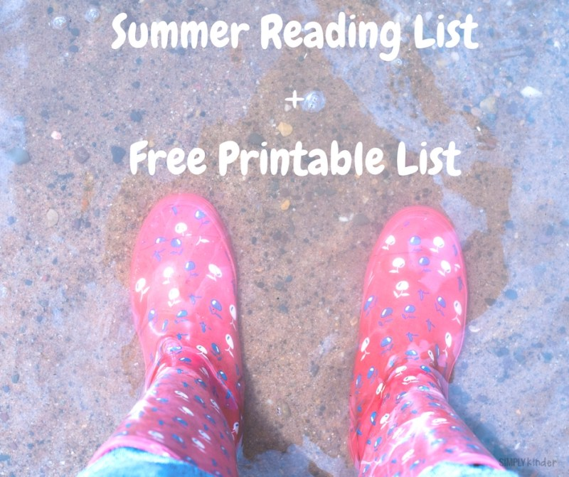 Sail Into 1st Grade - Summer Reading List + Free Printable List