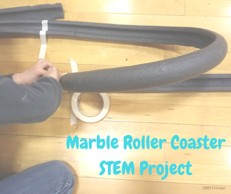 Marble Roller Coaster Stem Project