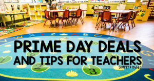 Prime Day deals and tips for teachers.