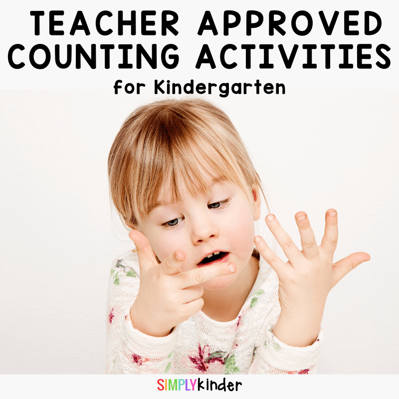 counting activities for Kindergarten