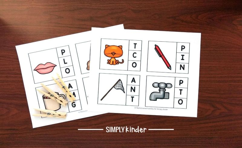 beginning and ending sounds sheets