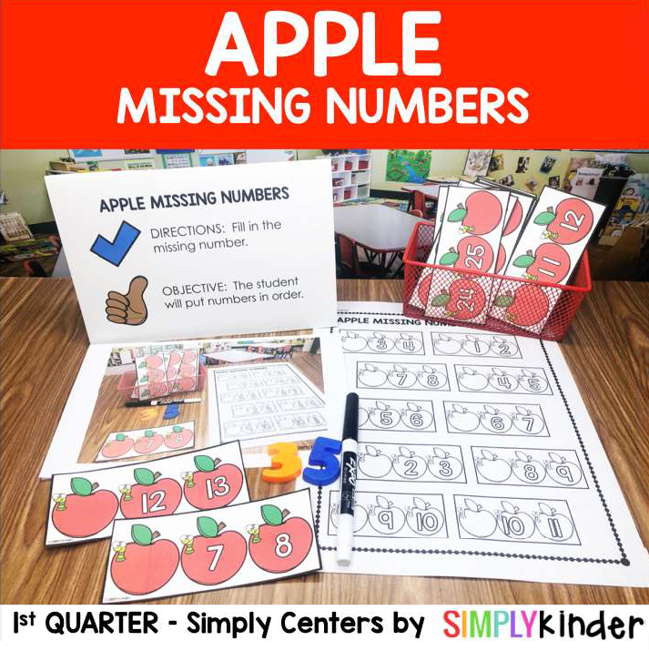 Missing numbers game