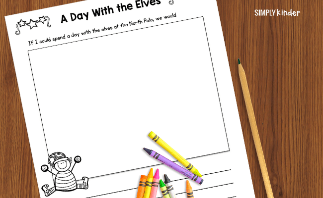 A Day with the Elves Christmas story prompt