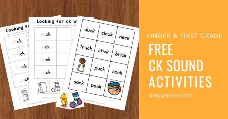 activities with ck words