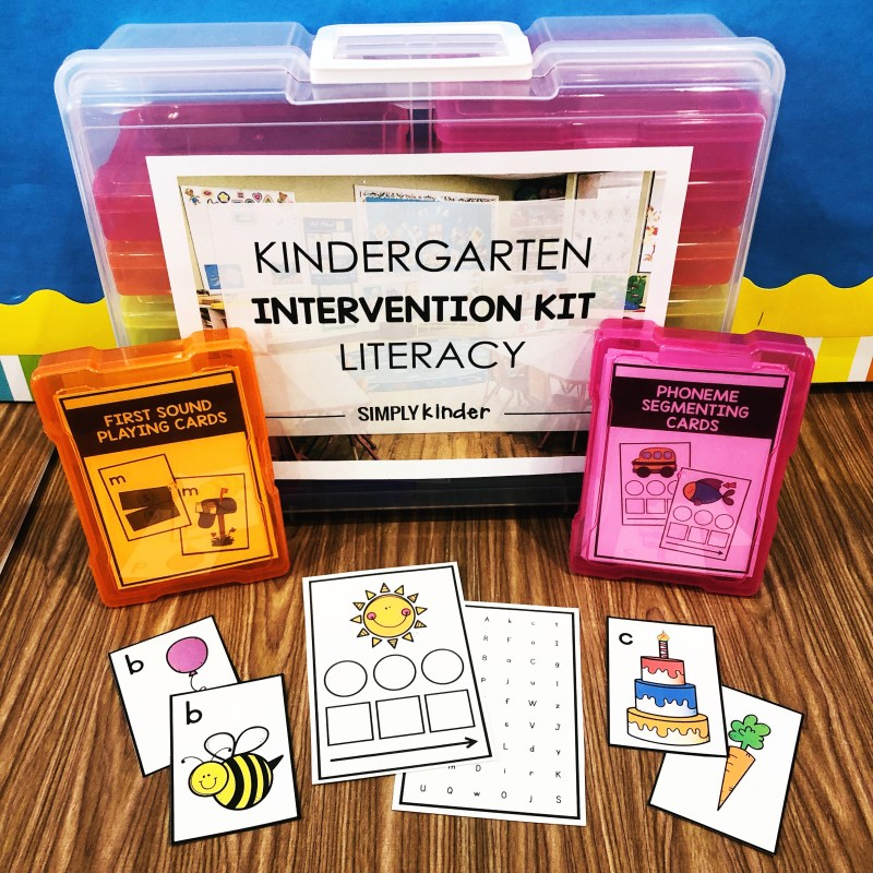 Kindergarten Intervention Kit