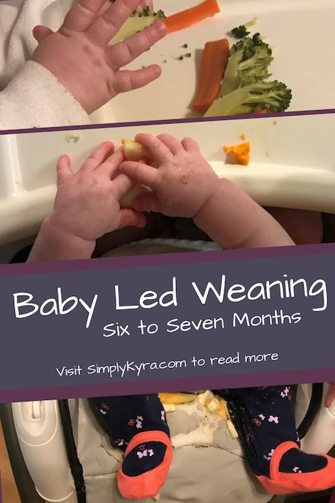 A quick overview on the first month or two of a baby's food journey: baby led weaning.