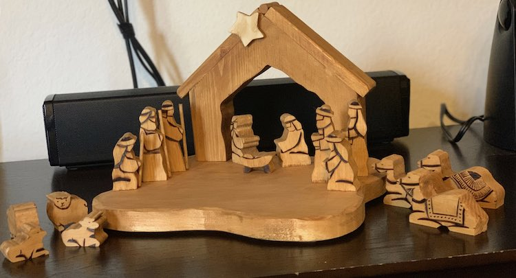 Full nativity scene