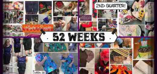 52 Weeks Of Sewing