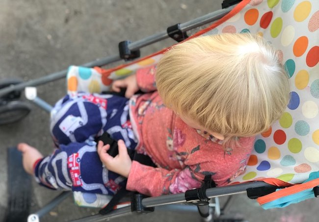 Our umbrella stroller has been used more by the kids as a toy than as an actual stroller.