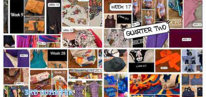 Image showing all four quarterly collage images. You can see these, seperately, below.