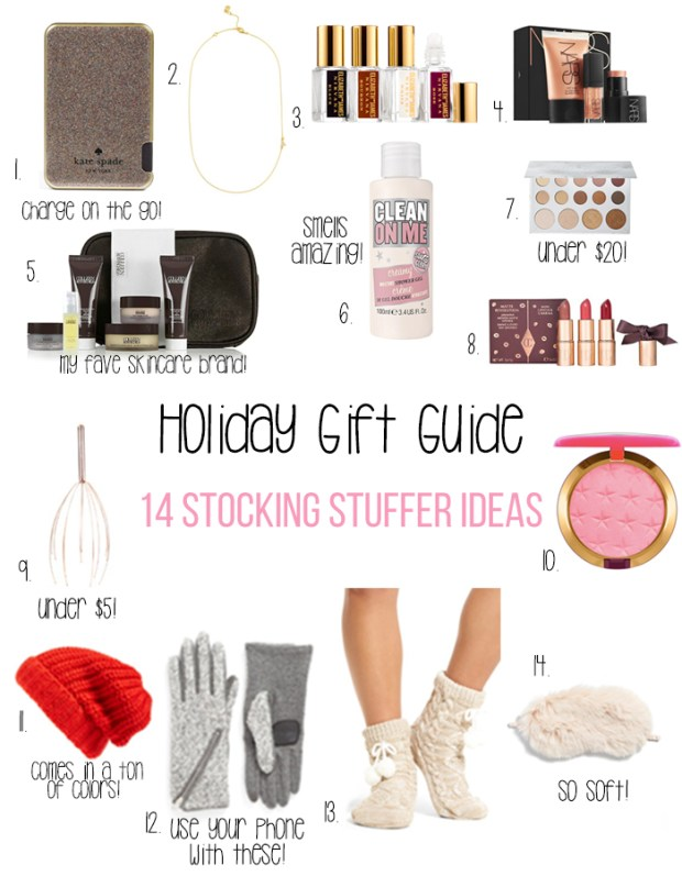 Holiday Gift Guide Stocking Stuffers