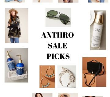 Anthro Sale Picks