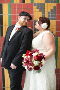 The beautiful bride and groom. Photo by Honey Heart Photography