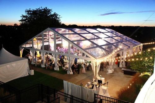 Lexington KY Clear Tent