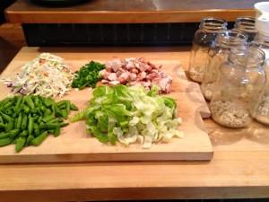 Thia Chicken Salad In A Jar