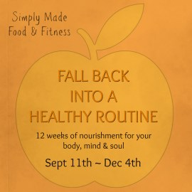 FALL BACK INTO A HEALTHY ROUTINE 2016 website