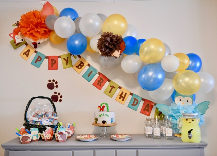 Decorating Is Always The Most Fun For Me I Have To Admit That Had Purchased Dylans Birthday Decorations Three Months After He Was Born