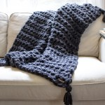 How To Hand Crochet A Blanket In One Hour Simplymaggie Com