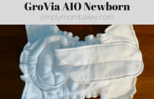 Newborn Diapers: GroVia Newborn AIO Older Style