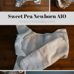 Newborn Diapers: Sweet Pea Newborn AIO {Review}