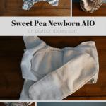 Newborn Diapers: Sweet Pea Newborn AIO {Review}