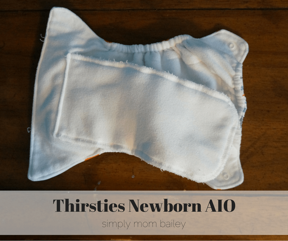 Thirsties newborn aio inside