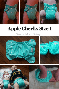 AppleCheeks Size 1 Newborn Cover