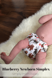 Blueberry Newborn Simplex