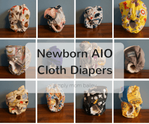 Newborn AIO Cloth Diapers