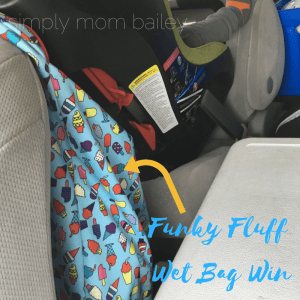 Toddler and Baby Road Trip - 2 under 2 - Wet Bag Hacks