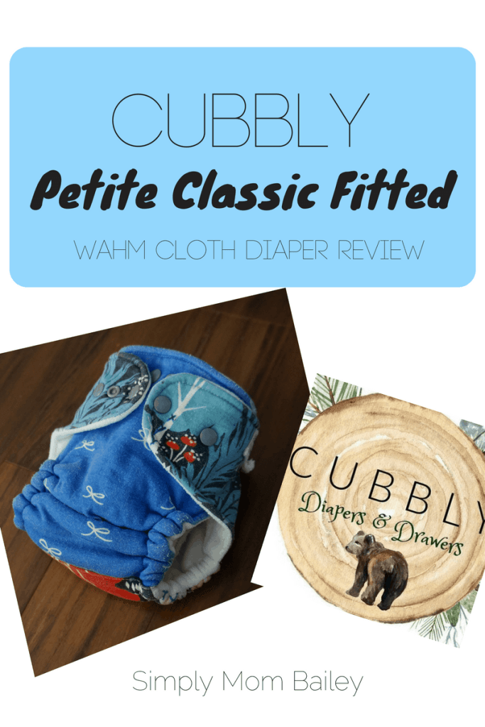 Cubbly - WAHM Fitted Diaper - Cloth Diaper Review - Fitted Cloth Diaper