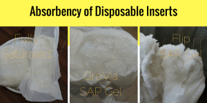 Disposable Inserts - GroVia BioSoaker on Baby - Cloth Diapers-2