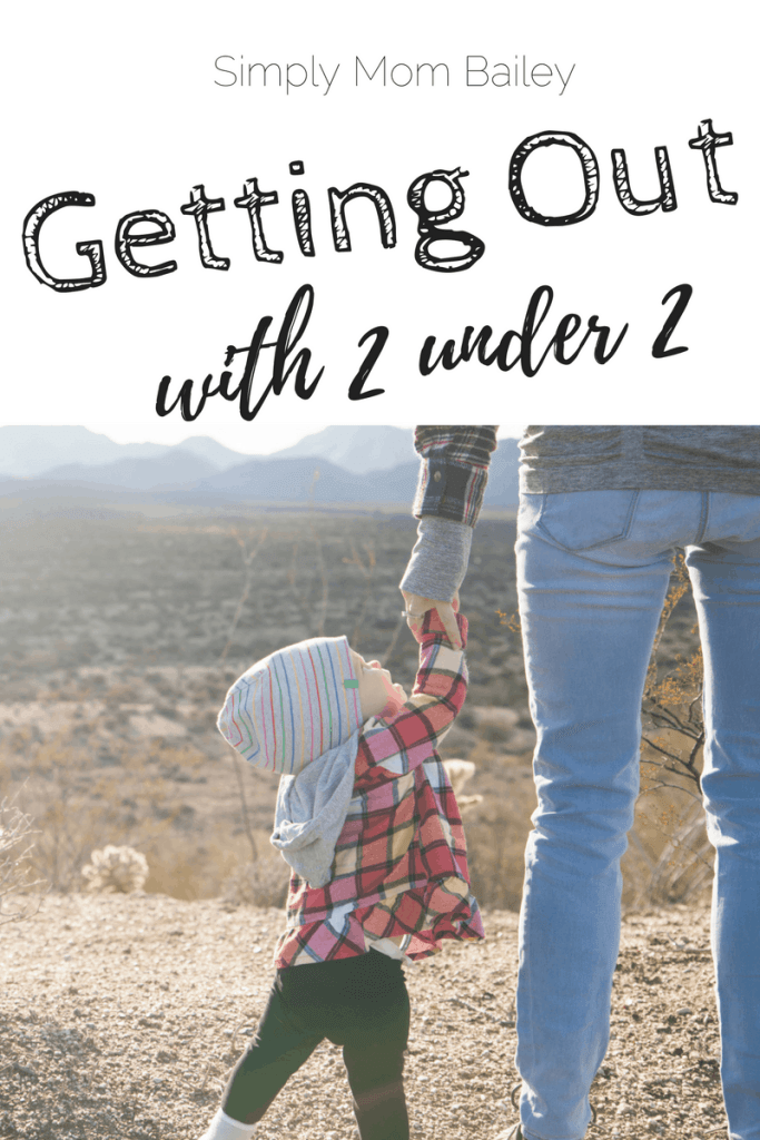 Get Out with 2 Under 2 - Leaving the house with kids