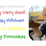 My Very Real Kitchen & a Toddler