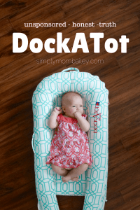 DockATot Review - Product Review - Unsponsored - Baby Sleep - Bed Sharing Co sleeping