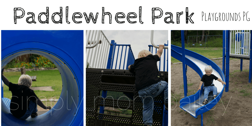 Paddlewheel Playground - Prince George Playgrounds - Prince George Park