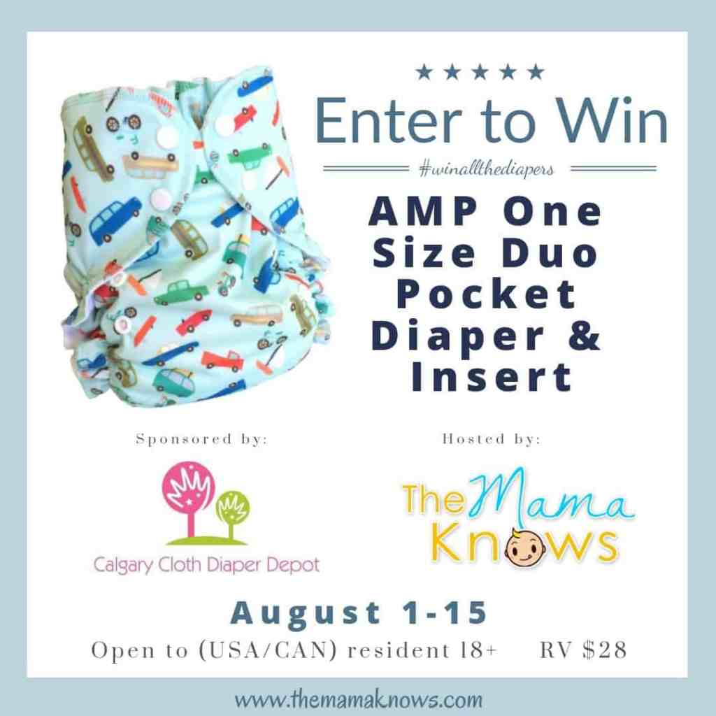 AMP OS Giveaway Cloth Diaper