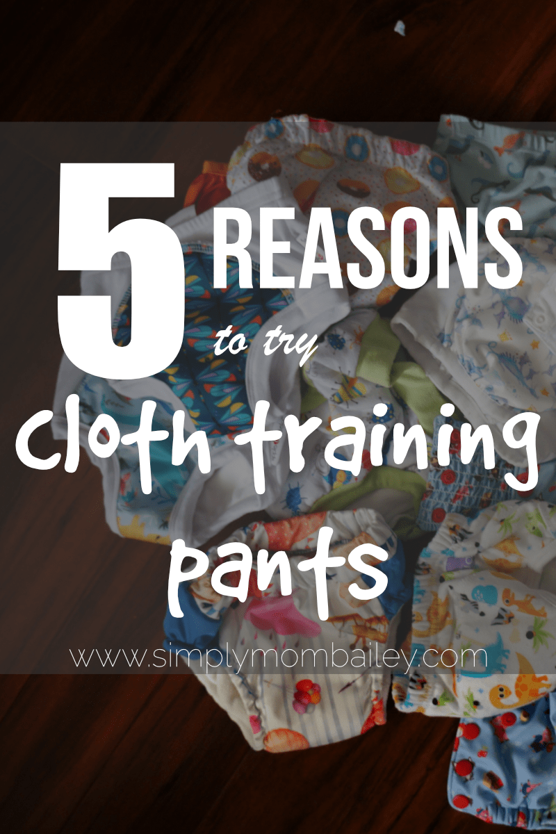 5 Reasons to Try Cloth Training Pants during Potty Training for Toddlers - Why you need Training Underwear for Potty Learning - Toddlers and Learning Pants - Cloth Diapers