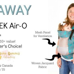 GIVEAWAY – Chimparoo TREK Air-O Carrier 9/15 – 10/15