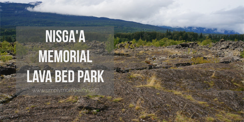 Nisgaa Memorial Lava Bed Park in BC #explorebc #travelCanada Family Travel Trips in Northern BC - Things to do near Terrace - Things to do in BC - Travel with Kids
