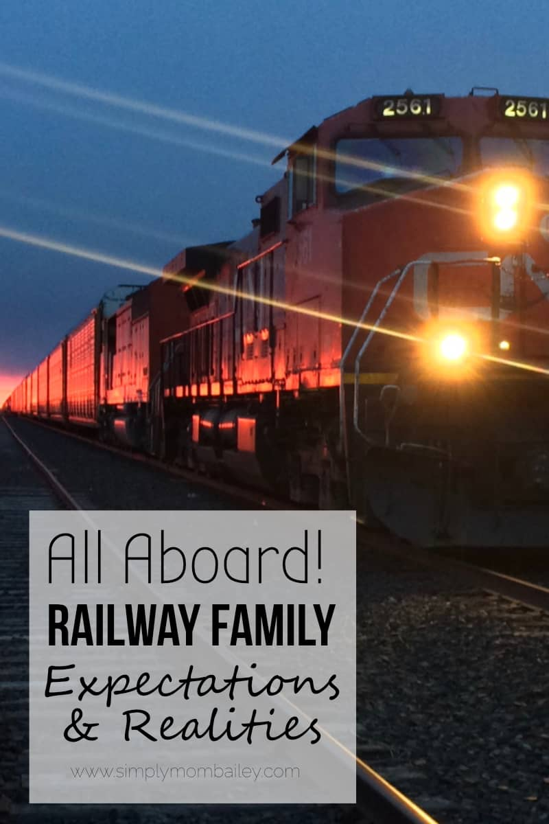 Railway Family - Train - Railroad - Engineer/Conductor Job and the impact on family.