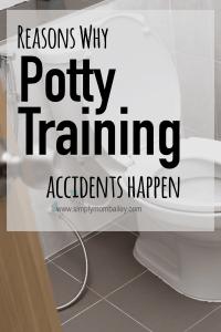 Potty Training Accidents Happen