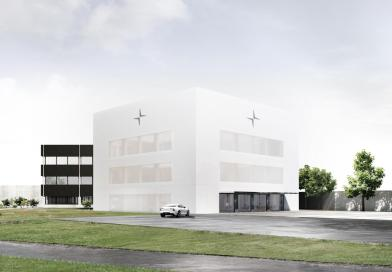 Polestar HQ is under construction